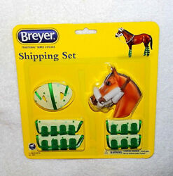Breyer No. 2062 Shipping Set Traditional Horse Tack Halter Lead Boots Bumper