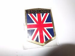 England Metal Plate 5x8 Cm For Antique Car Classic Motorcycle