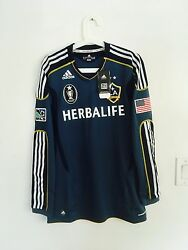 12-13 La Galaxy Away 23 Beckham Formotion Player Issue Shirt Size S, M, L Or Xl