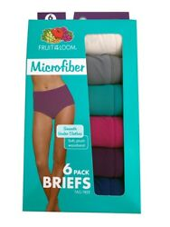 Fruit Of The Loom Women's Briefs 6-Pack