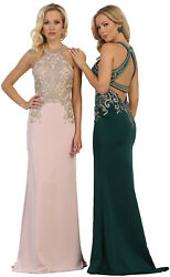 SALE ! LONG PROM PARTY FORMAL GOWN RED CARPET PAGEANT SEXY STRETCH EVENING DRESS $119.99