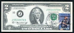 1976 2 Frn Federal Reserve Note Kansas City Mo Andldquofirst Day Issueandrdquo Gem Unc