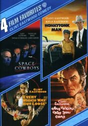 Clint Eastwood - 4 Film Favorites Clint Eastwood Comedy [new Dvd] Widescreen