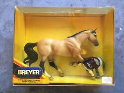 New NIB Breyer Horse #701196 First Competitor Buckskin Gem Twist LE Saddle Tack