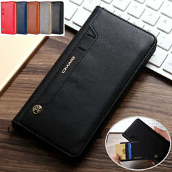 Luxury Leather Flip Wallet Card Stand Case Cover For iPhone 11 Pro Xs Max SE 8 7
