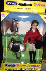 Breyer Model Horse Accessory Show Jumper Chelsea With English Tack