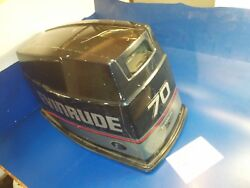 0284733 284733 Motor Cover Hood = Johnson Evinrude 70hp Or Jj Outboard Parts