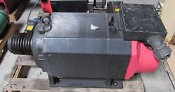 Fanuc Ac Spindle Motor Removed From Femco Wt-50