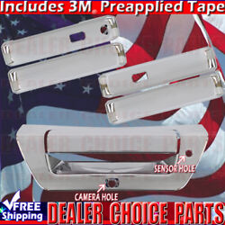 2015 2016 2017 Ford F150 4dr Chrome Door Handle Covers+tailgate Withsmartkeyhole