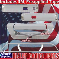 2015 2016 2017 Ford F150 2d Chrome Door Handle Covers+tailgate+brakelight Smarth
