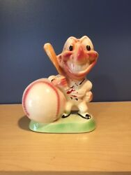1950's Cleveland Indians Gibbs-conner Bank - Chief Wahoo