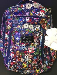 NWT Jujube Tokidoki Sea Punk SP Be Right Back BRB Backpack Diaper Bag Complete
