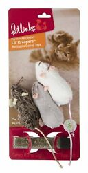 Refillable Realistic Interactive Mice Cat Kicker Crazy Toy Catnip Toys Gift