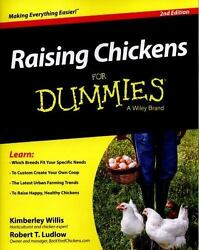 Raising Chickens for Dummies® by Robert T. Ludlow and Kimberly Willis (2015...