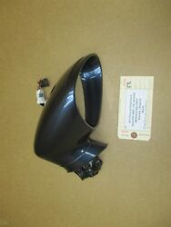 11 Panamera 4 Awd 970 Porsche R Exterior Rear View Mirror Housing Blue 46434