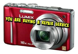 Panasonic Zs10 Or Tz20 Repair Service For Your Digital Camera- Warranty