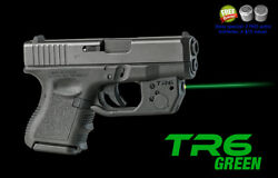 Armalaser Tr6g Glock 26 , 27 And 33 Super-bright Green Laser With Grip Activation