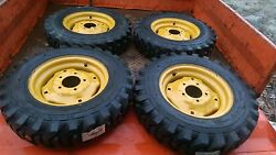 4-5.70-12 Sks532 Skid Steer Tires/wheels For New Holland L250 And L255