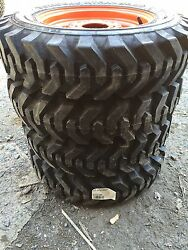 4-5.70-12 Xtra Wall Foam Filled Skid Steer Tires/wheels For Bobcat 453,463,s70