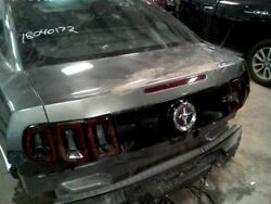 Trunk/Hatch/Tailgate GT V8 Without Spoiler Fits 13-14 MUSTANG 1381419