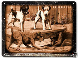 Boston Terrier METAL sign dog pet shop great gift vintage style wall decor 320