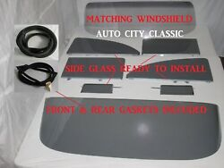 1955-1956 Chevrolet 2 Door Sedan Glass Windshield Vents Doors Quarters Assm Back