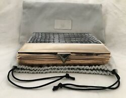 "Heather Henry ""BIZZY"" Minaudière Luxury Designer Evening Clutch Handbag Purse"