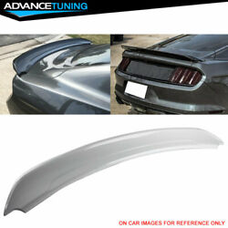 Fits 15-20 Ford Mustang Track Pack Trunk Spoiler Oem Painted Yz Oxford White