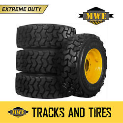 10x16.5 10-16.5 Extreme Duty 10-ply Lifemaster Skid Steer Tires - New Holland