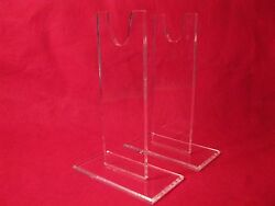 Premium 7 Acrylic Cs And Us Civil War Sword And Bowie Knife Display Stand