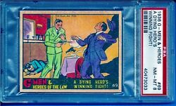 1936 R60 G - Men And Heroes 69 A Dying Hero's Winning Fight Psa 8 Pop 1