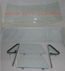64-66 Chevy Gmc Pickup Truck Windshield Vent Door Large Back Glass Cl Assmb Post