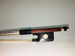 Cello Bow F.schaeffer Arcos Brasil-silver Wrap Special Edition 80g New Bow