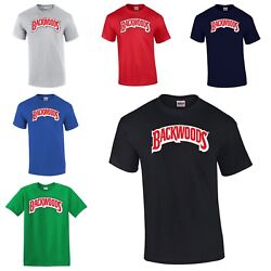 Backwoods T-Shirt Blunt Weed Cigar Roll Up High Henny Joint Stoner Smoke 420