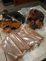Pure Organic Upper Peninsula Michigan Chaga 1lb Chunk Bag