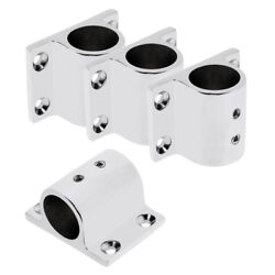 Pack Of 4 Boat Hand Rail Fitting 1 Rectangle Stanchion Base Mount Hardware