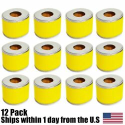 12pk Air Filter Cleaner Element 8hp And 9hp Fits Honda Gx240 And Gx270 Engine