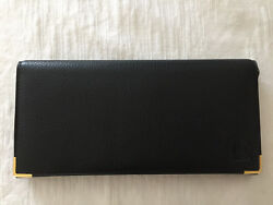 Classy Sleek Leather Clutch Wallet for Men great for suit jacket inner pocket $100.00