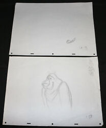 Tony The Tiger And Digand039em Frog Kelloggand039s Tv Cereal Animation 2pc Pencil Art 59