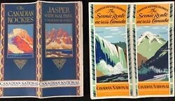 Canadian Rockies 1928 And Canadian National Railways 1934
