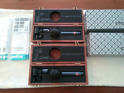 NEUMANN KM 131 OMNI CONDENSER MIC PAIR WITH CONSECUTIVE SERIAL NUMBERS ONE OWNER