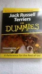 Jack Russell Terriers For Dummies by Britt-Hay Deborah free shipping dog book