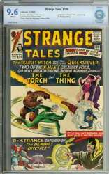 Strange Tales 128 Cbcs 9.6 White Pages // Quicksilver + Scarlet Witch App