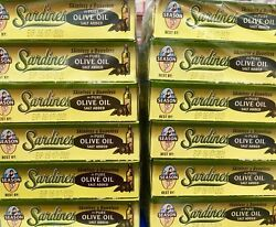 Season Sardines In Pure Olive Oil 4.375-oz Cans 2 Packs Of 6 12 Cans