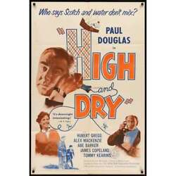 High And Dry Us 1sh Movie Poster - 1954 - Paul Douglas
