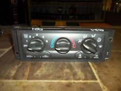 2001 02 03 04 05 CHEVY VENTURE SILHOUETTE AC TEMPERATURE HEATER CLIMATE CONTROL
