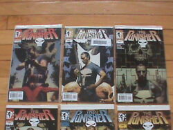 The Punisher 3-12 2000 And Punisher 1-37 2001/missing 789.lot Of 44 Comic