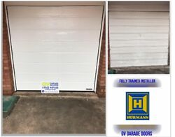 Gv Garage Doors - Fully Fitted Hormann Sectional M Ribbed Garage Door Call Today