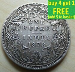 India Victoria Edward Vii George V Vi 1/2 Rupee 1/4 Anna Pice Choose Your Coin