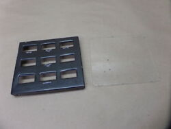 1956 Piper Pa-23-150 Apache Instrument Gauge Panel Mount Face Plate Cover Guard